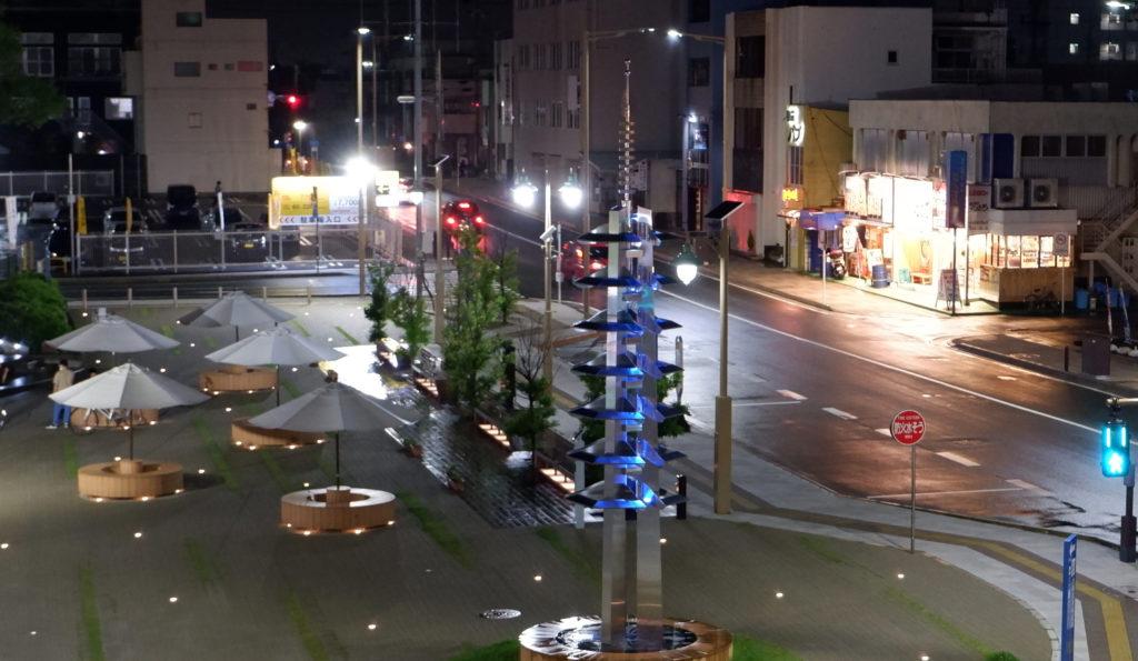 磐田駅北口の夜景