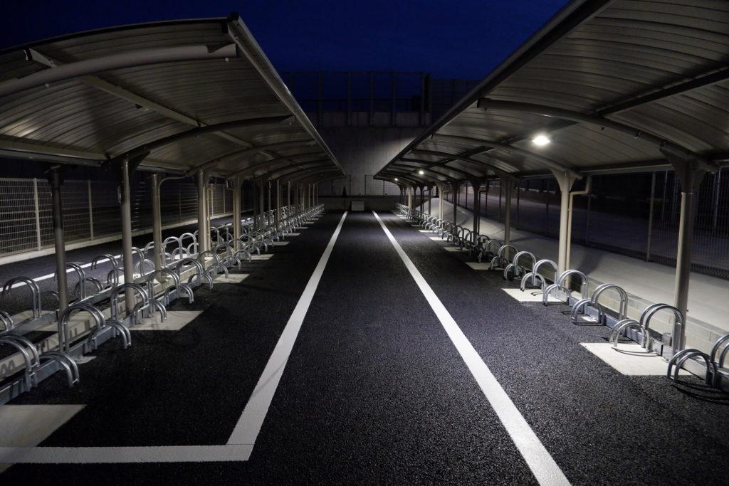 駐輪場照明