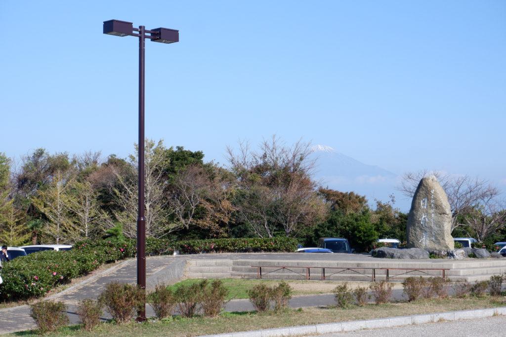 日本平駐車場照明灯
