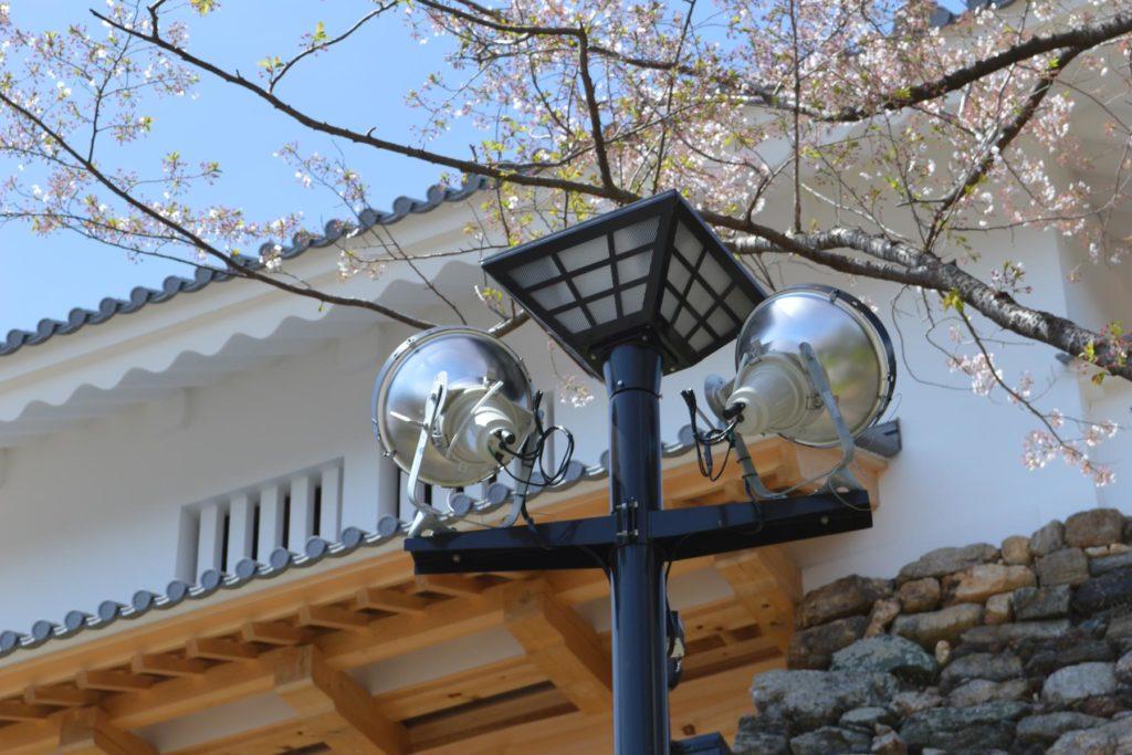 浜松城址公園 公園灯