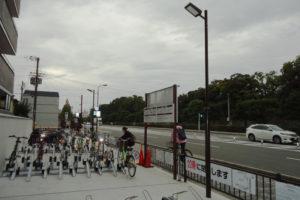 京都市 二条城周辺 駐輪場照明