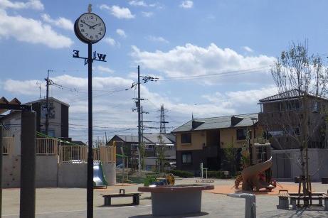 大阪府八尾市 曙川公園 公園灯
