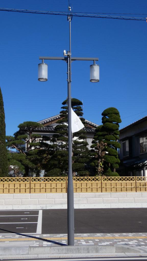 長野県茅野市 歩道照明灯
