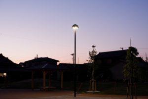 刈谷市伊勢山公園 HS-537公園灯