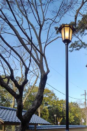 和風庭園灯
