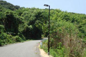 兵庫県淡路市 道路照明灯