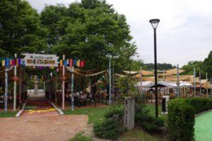 城陽市総合公園 公園灯