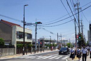 刈谷環状線の車道照明灯