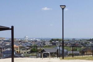 愛知県豊田市中根公園 公園灯