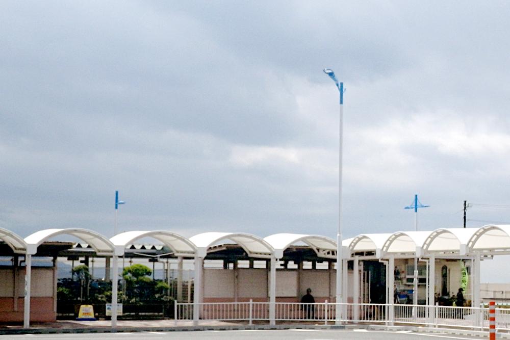 兵庫県明石市 JR朝霧駅 街路灯